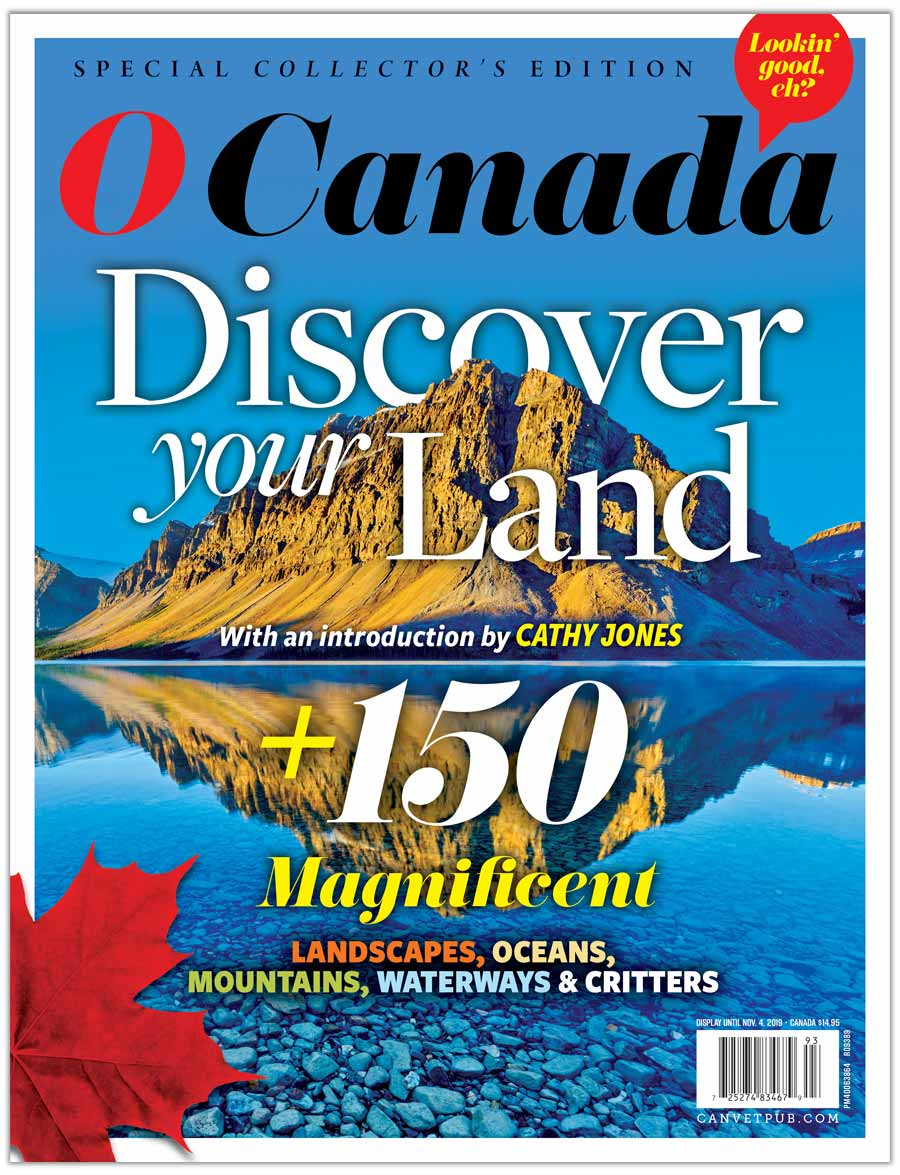 O Canada: Discover your land