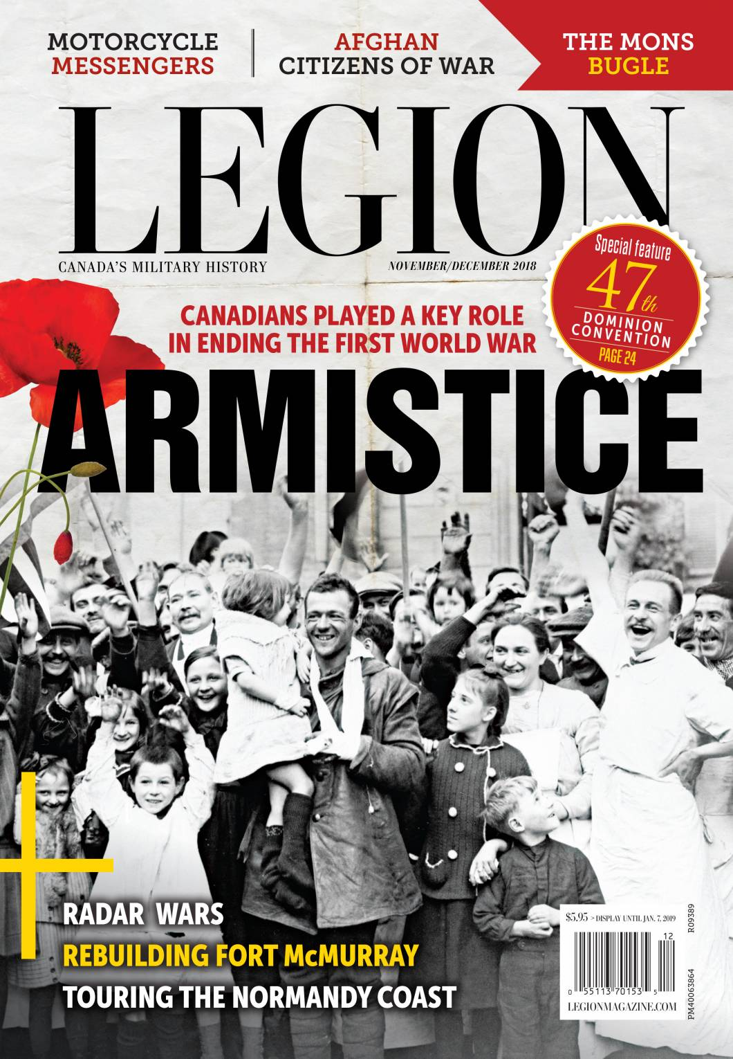 legion magazine cover